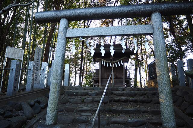 旧本殿 奥の院
