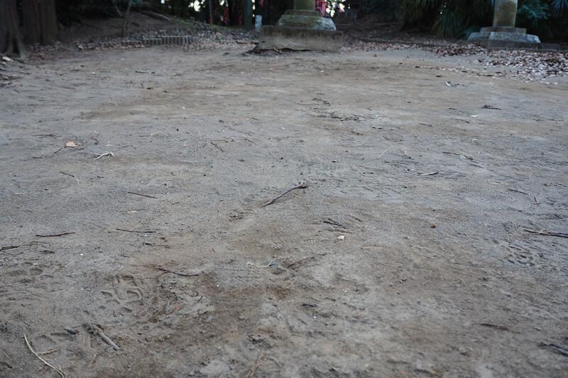 サラサラの砂