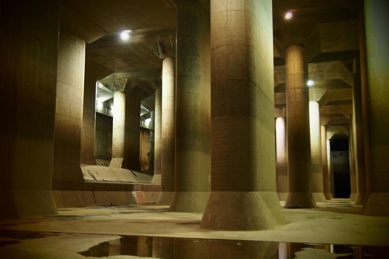 地下神殿 首都圏外郭放水路