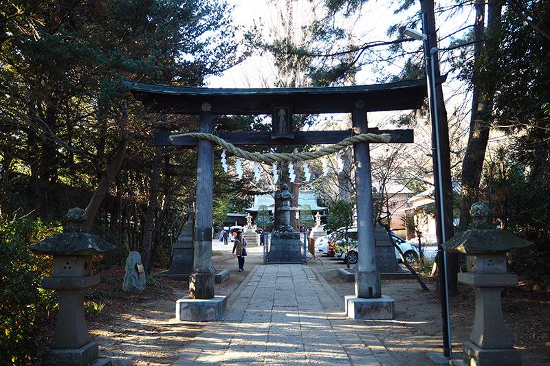 春日部八幡神社の御朱印の貰い方