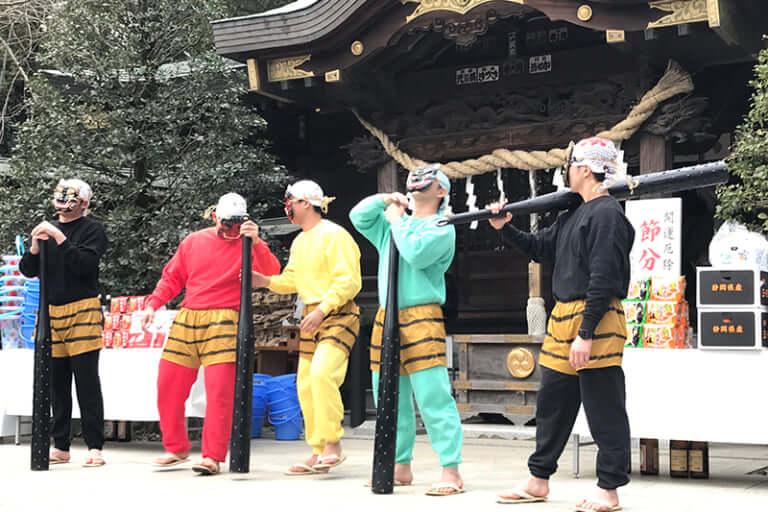 八幡神社 節分祭