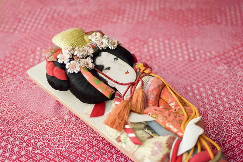 春日部名産の羽子板で大竹さんがリグティング?