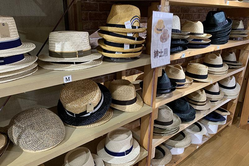 田中帽子店の夏の感謝セール